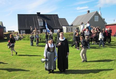Aldamótahátíð á Eyrarbakka 8. ágúst 2015