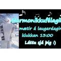 Laugardaginn 10. desember koma harmonikkuleikarar í bókasafnið á Selfossi